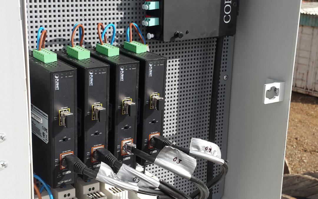 PoE IP Camera infractructuur